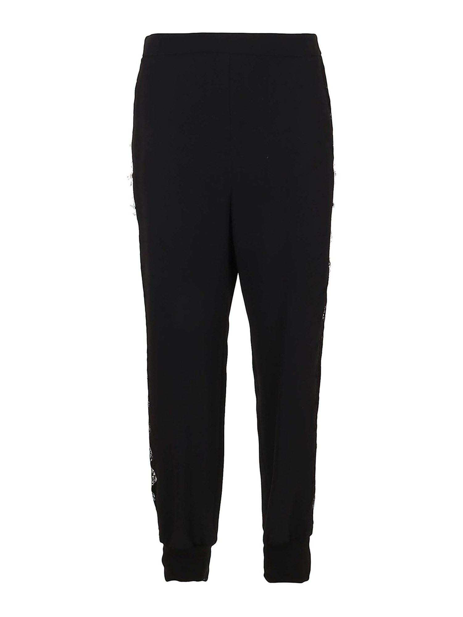 Stella Mccartney STELLA MCCARTNEY JULIA TRACKSUIT BOTTOMS IN BLACK