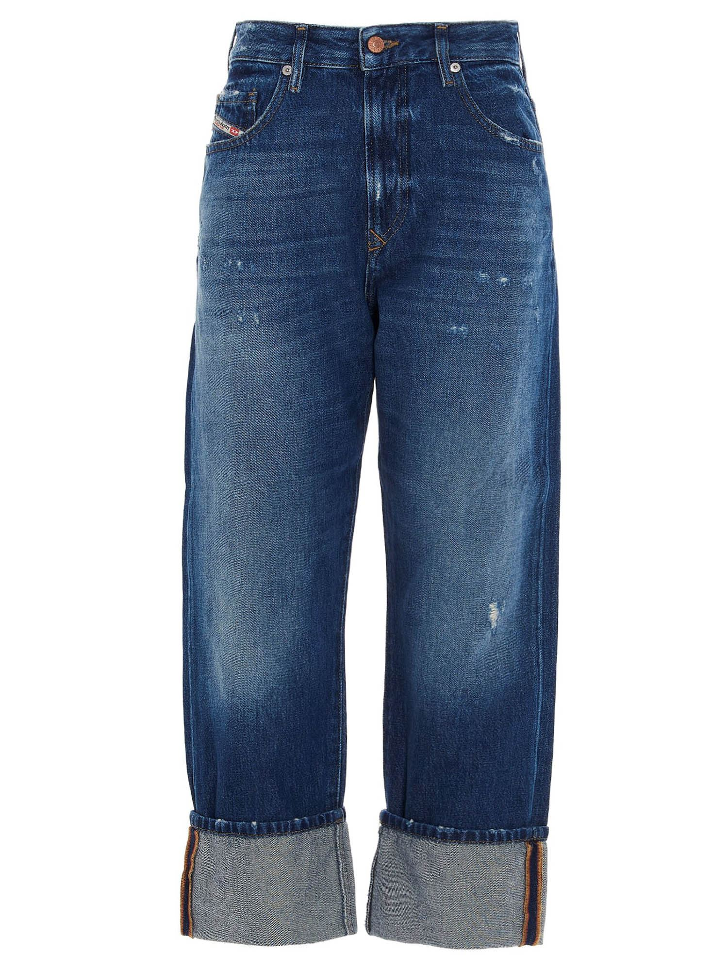 DIESEL D-REGGY JEANS IN BLUE