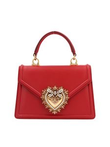 Dolce & Gabbana - Small Devotion bag in red