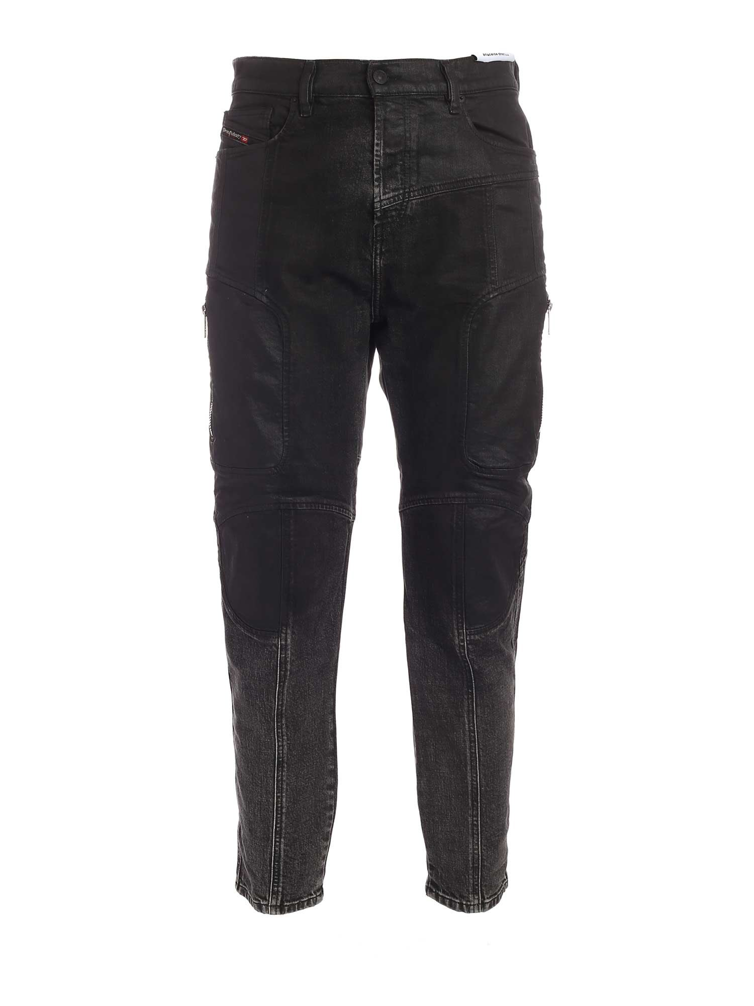 Diesel D-VIDER JEANS IN BLACK