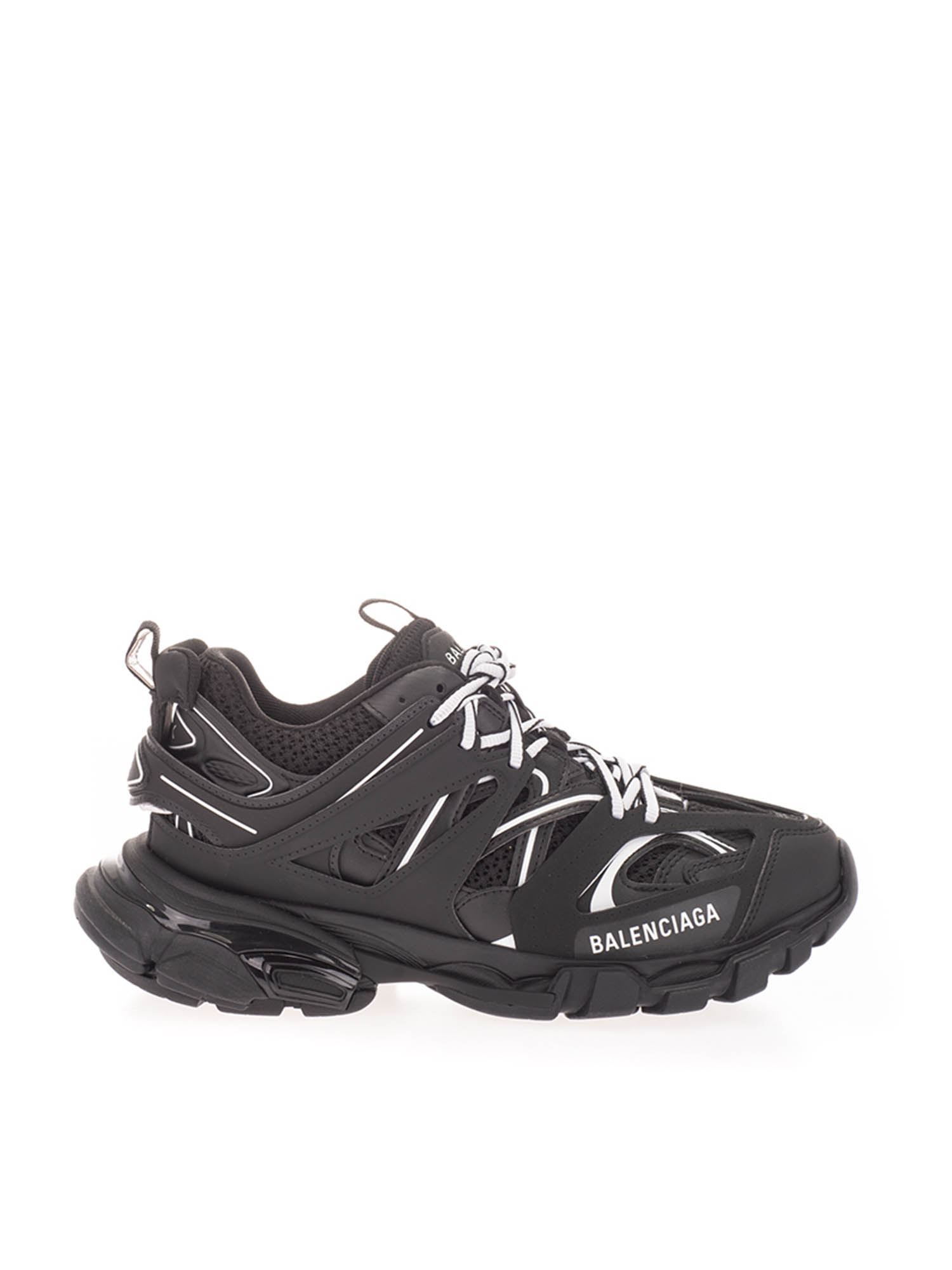 Balenciaga TRACK SNEAKERS IN BLACK