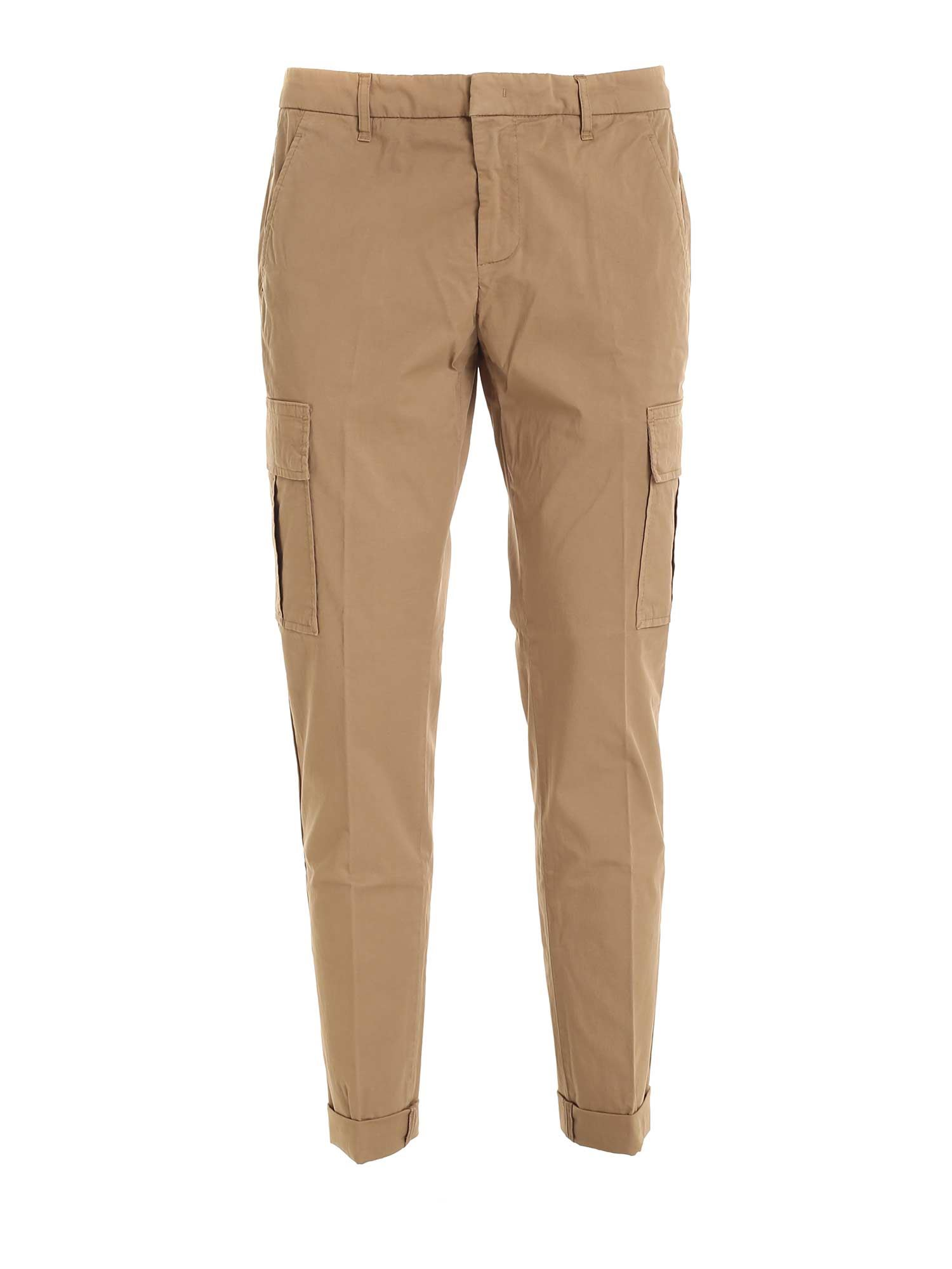 Dondup ZENO PANTS IN BROWN