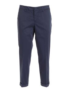 Fay - Chino pants in blue