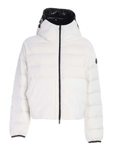 Moncler - Anwar hooded down jacket in white