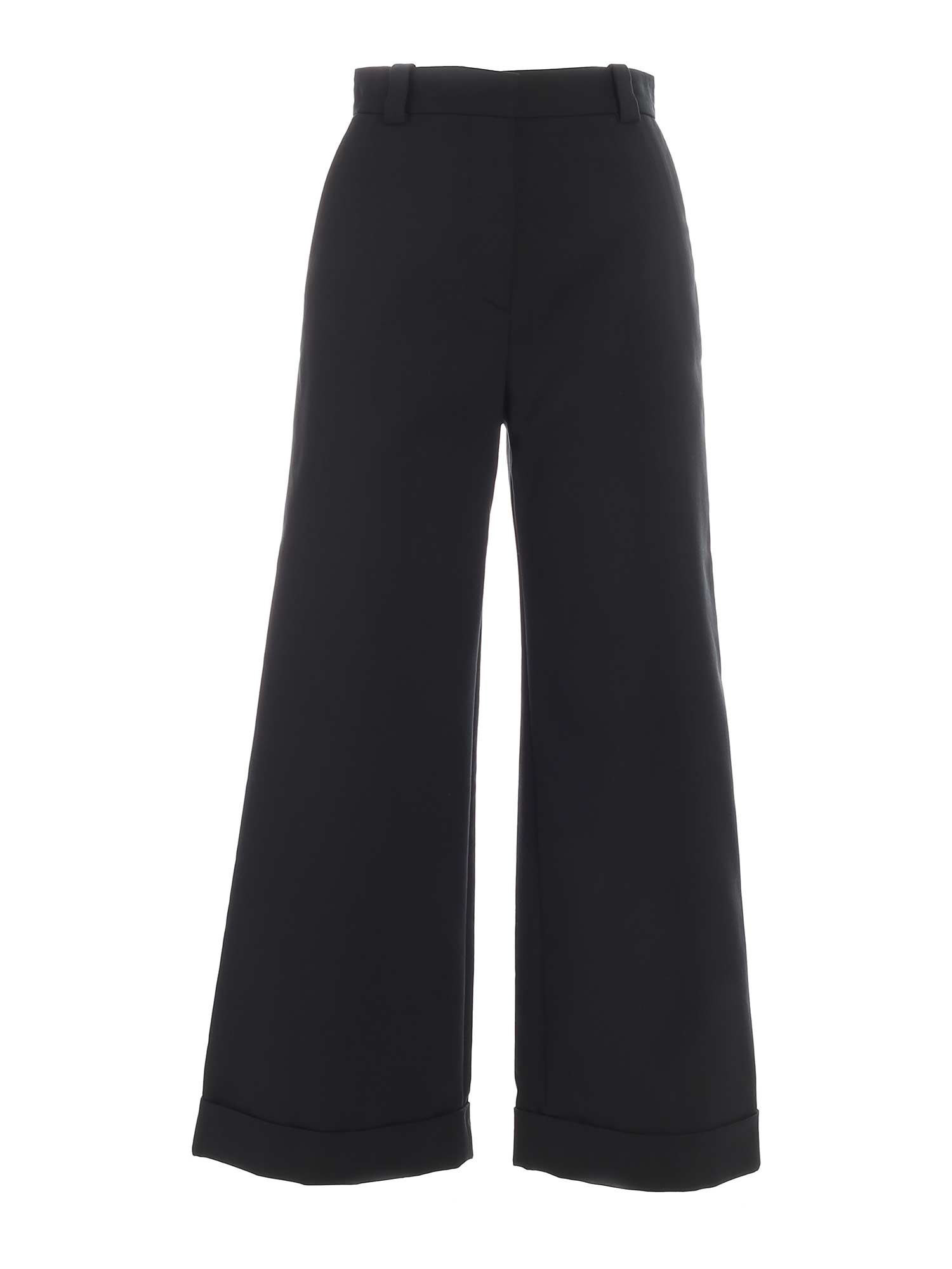 See By Chloé WIDE LEG PANTS IN GREEN