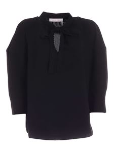 See by Chloé - Bow blouse in black