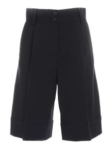 See by Chloé - Flared shorts in dark green