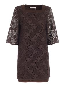 See by Chloé - Short dress in brown