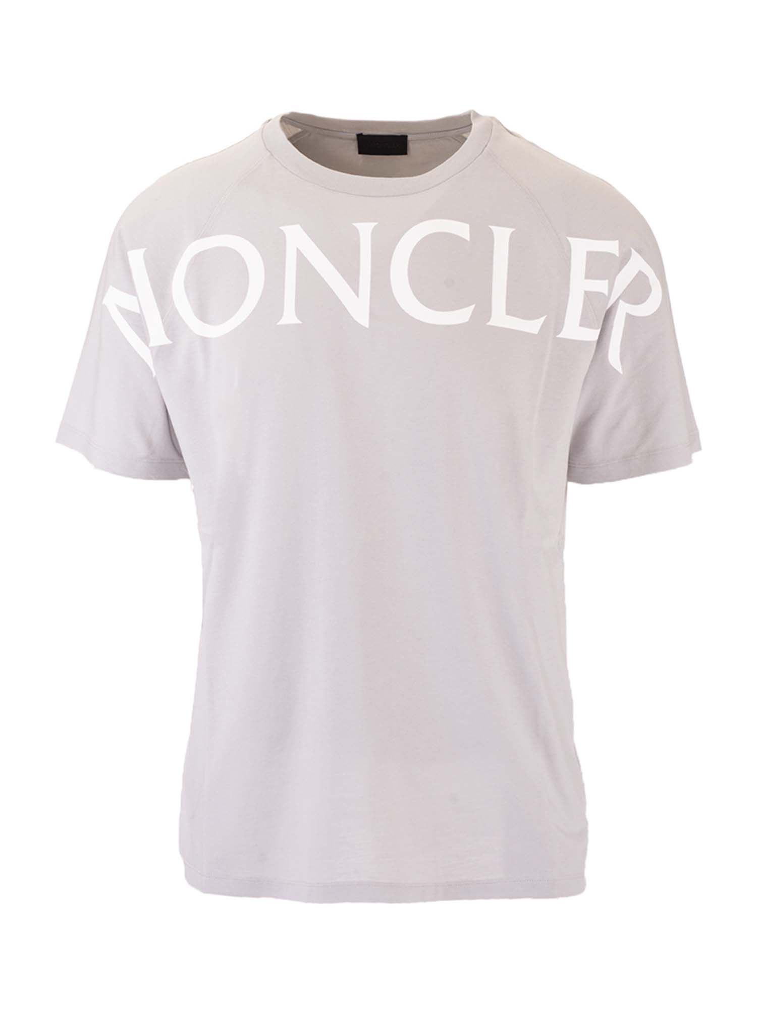 Moncler Grenoble MONCLER T-SHIRT IN GRAY