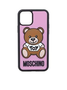 Moschino - Cover Iphone 11 Pro Teddy Bear rosa