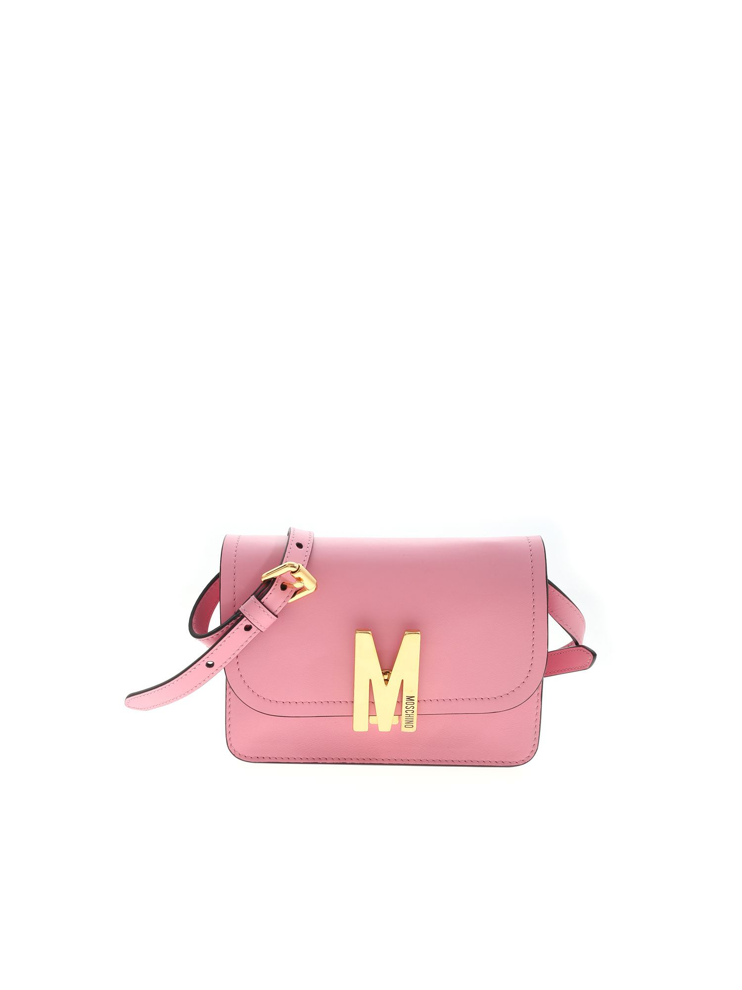 Moschino M LOGO BAG IN PINK