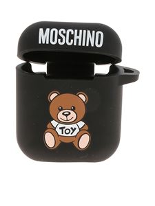 Moschino - Cover AirPods nera