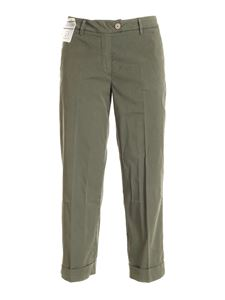Re-HasH - Nelly chino pants in green