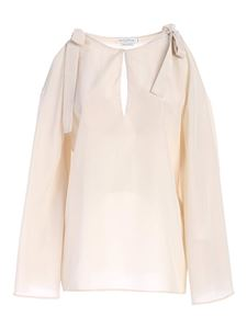 Ballantyne - Bows blouse in white
