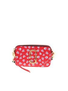 Marc Jacobs  - Snapshot printed crossbody bag in red