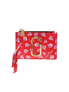 Marc Jacobs  - The Snapshot printed coin purse in red