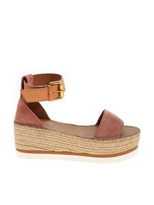 See by Chloé - Rope details sandals in pink