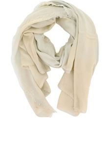 Avant Toi - Cashmere blend stole in beige