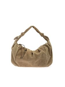 Borbonese - Medium Duna bag in beige and brown