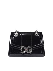 Dolce & Gabbana - Amore patent leather  bag