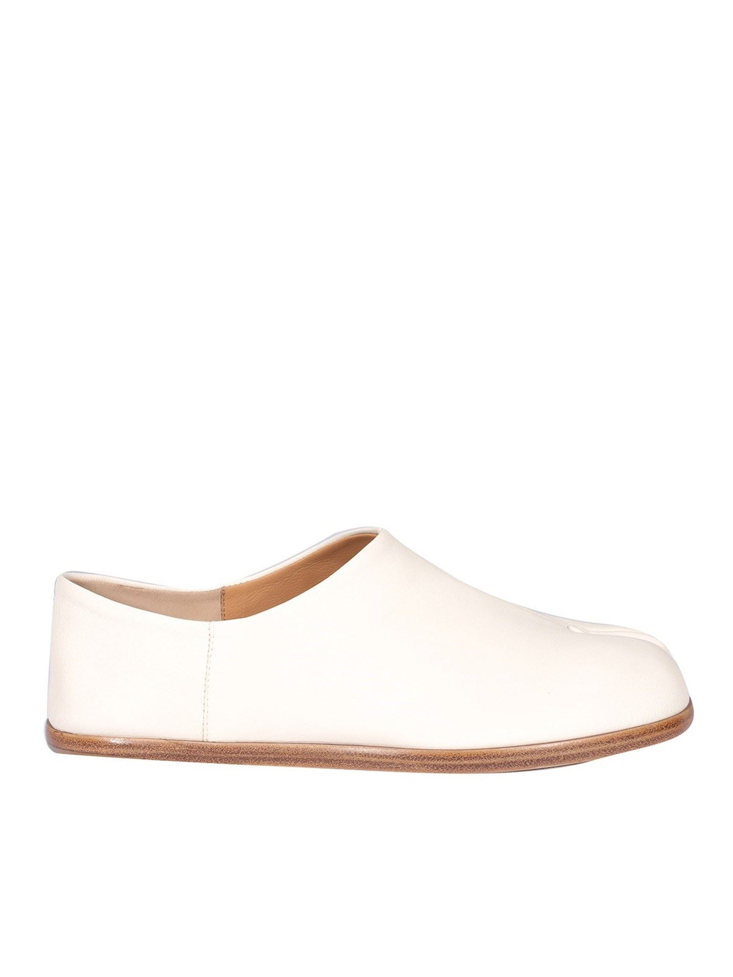 Maison Margiela TABI LOAFERS IN WHITE