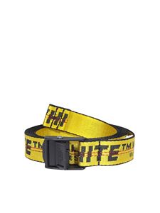Off-White - Cintura Industrial 2.0 gialla
