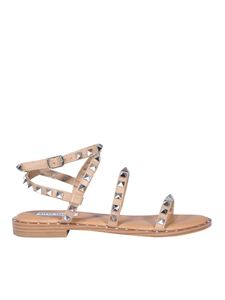 Steve Madden - Studded faux leather sandals in pink
