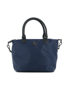 Woolrich - Nylon tote bag in blue