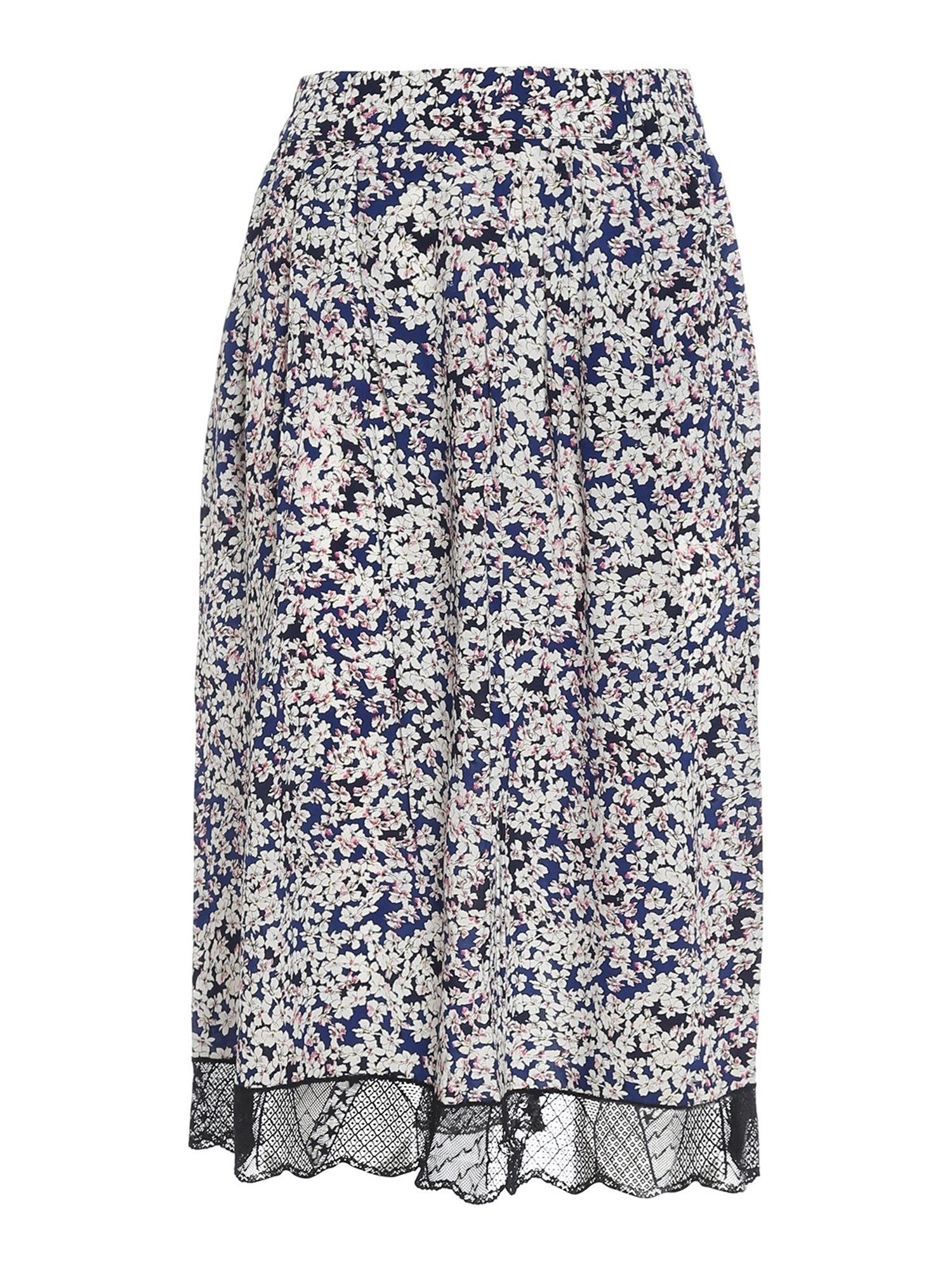 Zadig & Voltaire JENNY VISCOSE MULTICOLOR SKIRT