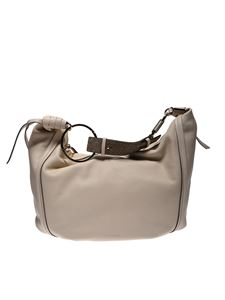 Borbonese - Large Orbit bag in beige