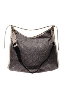 Borbonese - OP shoulder bag in beige