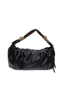 Borbonese - Medium Duna bag in black