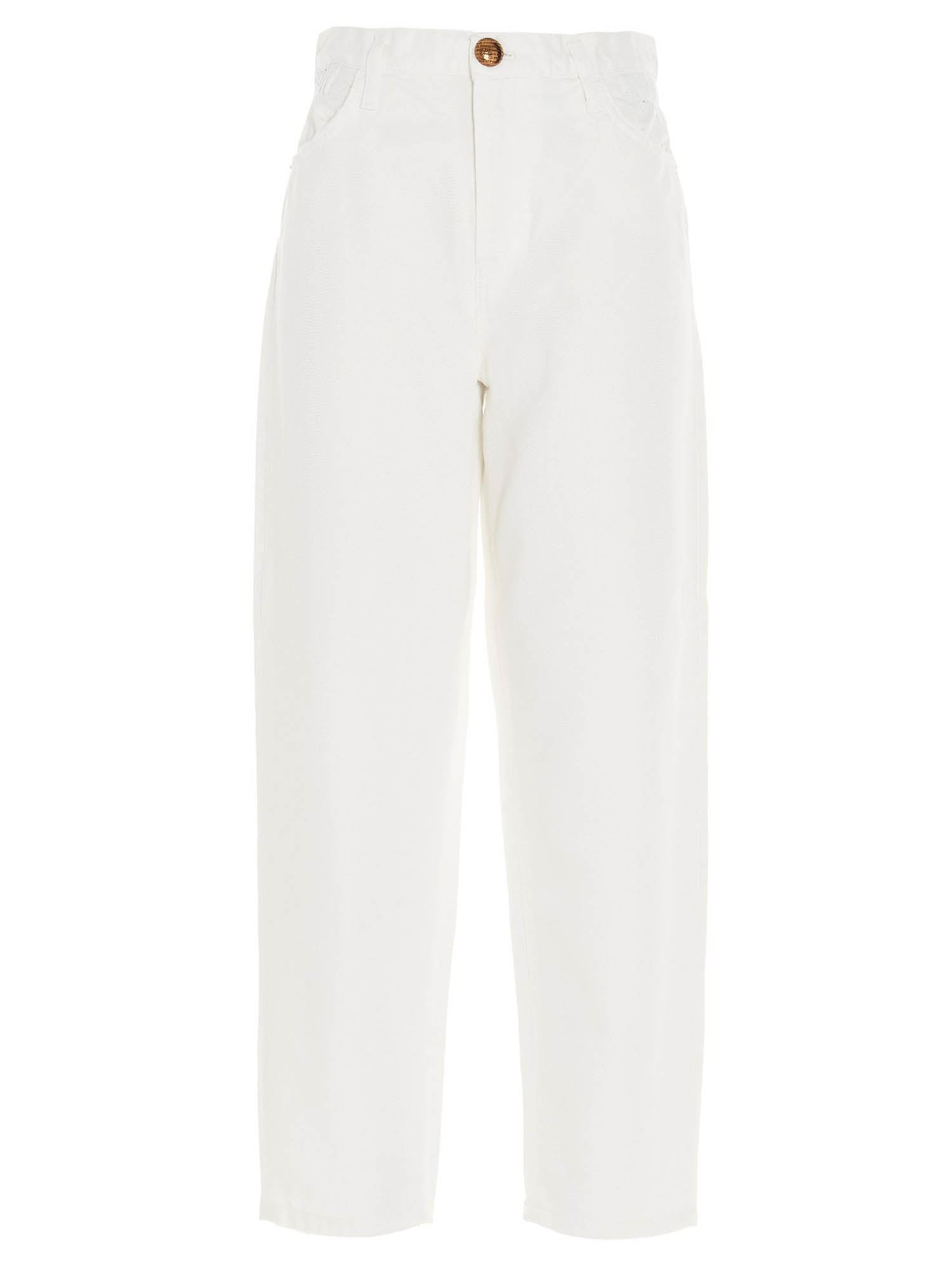 Pinko Cottons PINKO FLEXI MADDIE JEANS IN WHITE