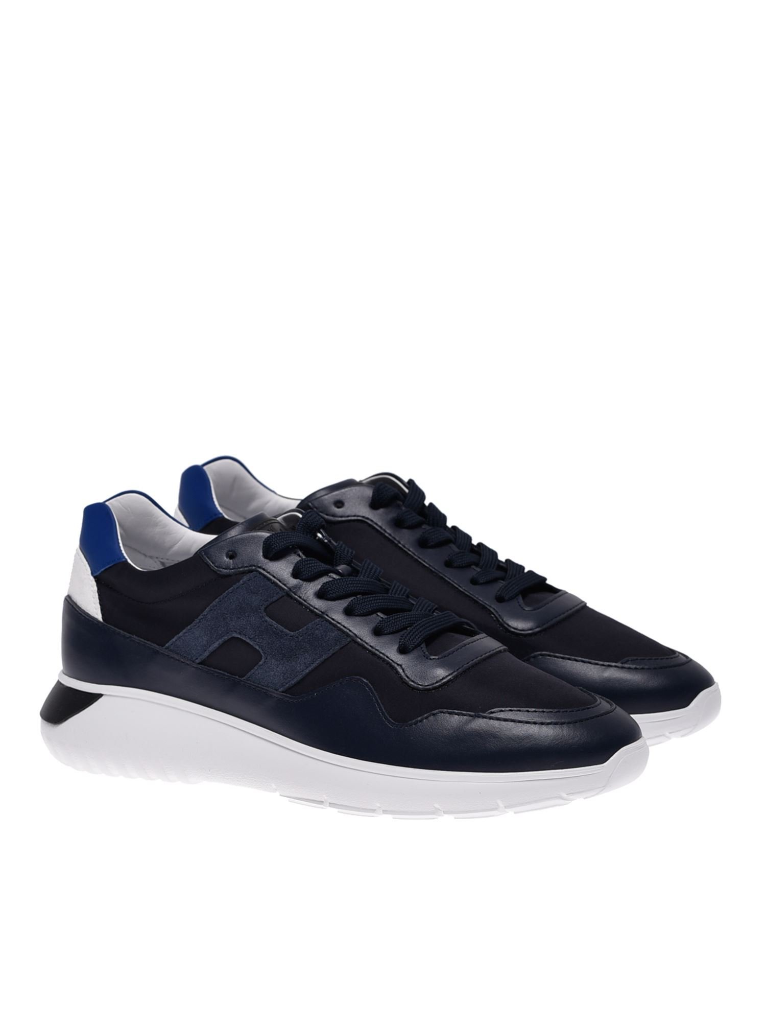 Hogan INTERACTIVE SNEAKERS IN BLUE