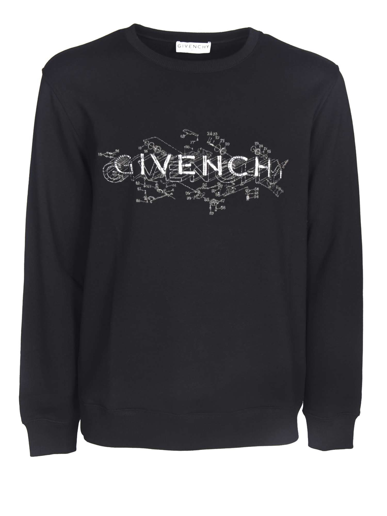Givenchy LOGO SWEATSHIRT IN BLACK