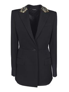 Givenchy - Collar sequins jacket in black