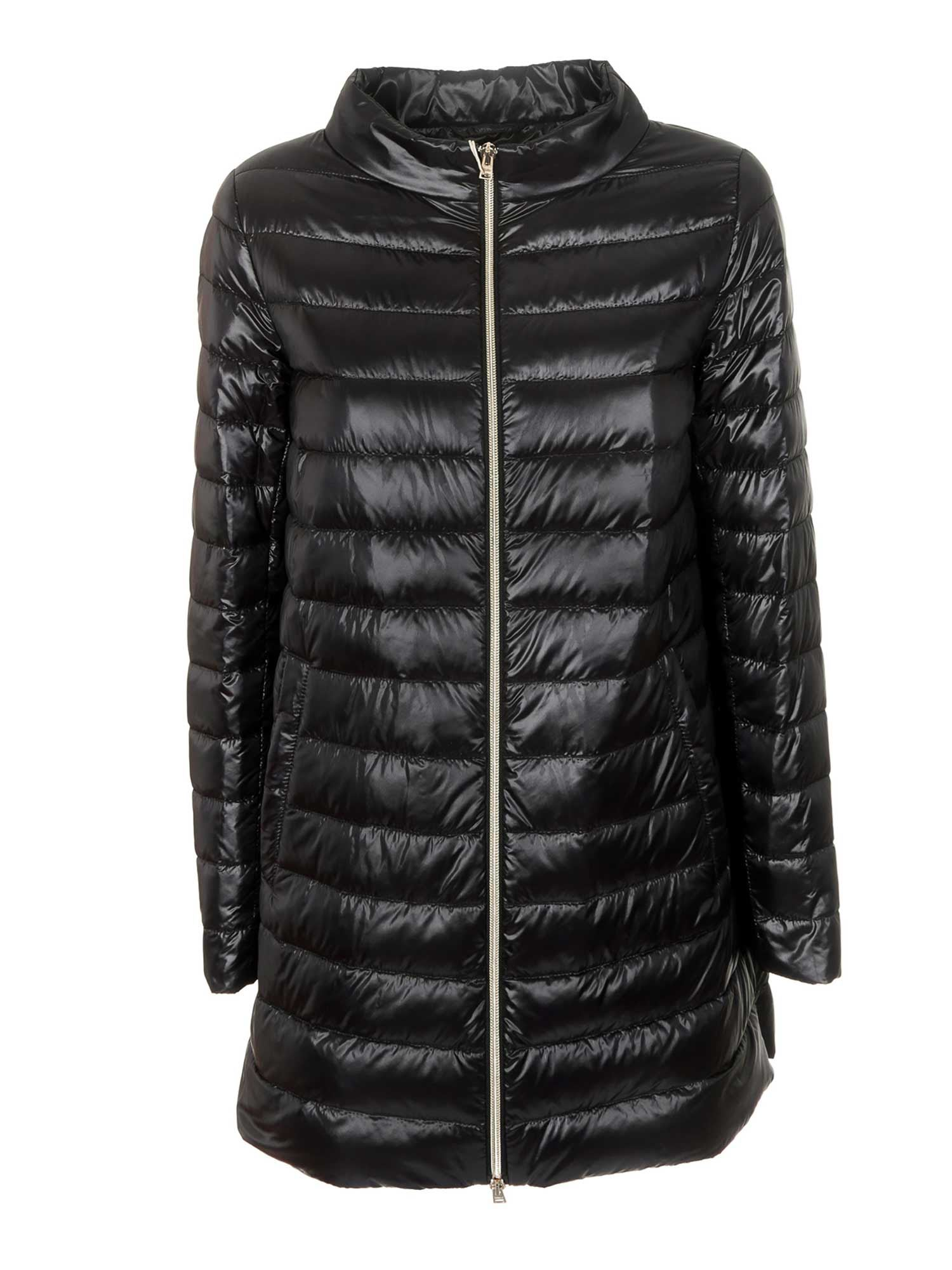 Herno Bomber jackets A-SHAPED DOWN JACKET IN BLACK