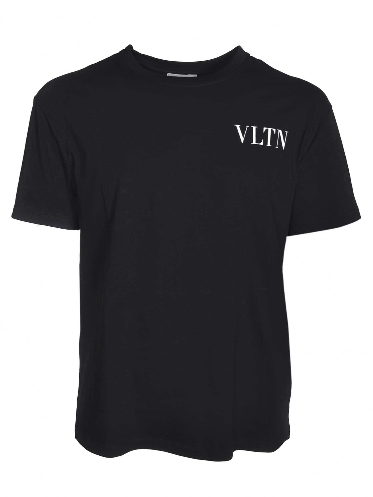 Valentino LOGO T-SHIRT IN BLACK