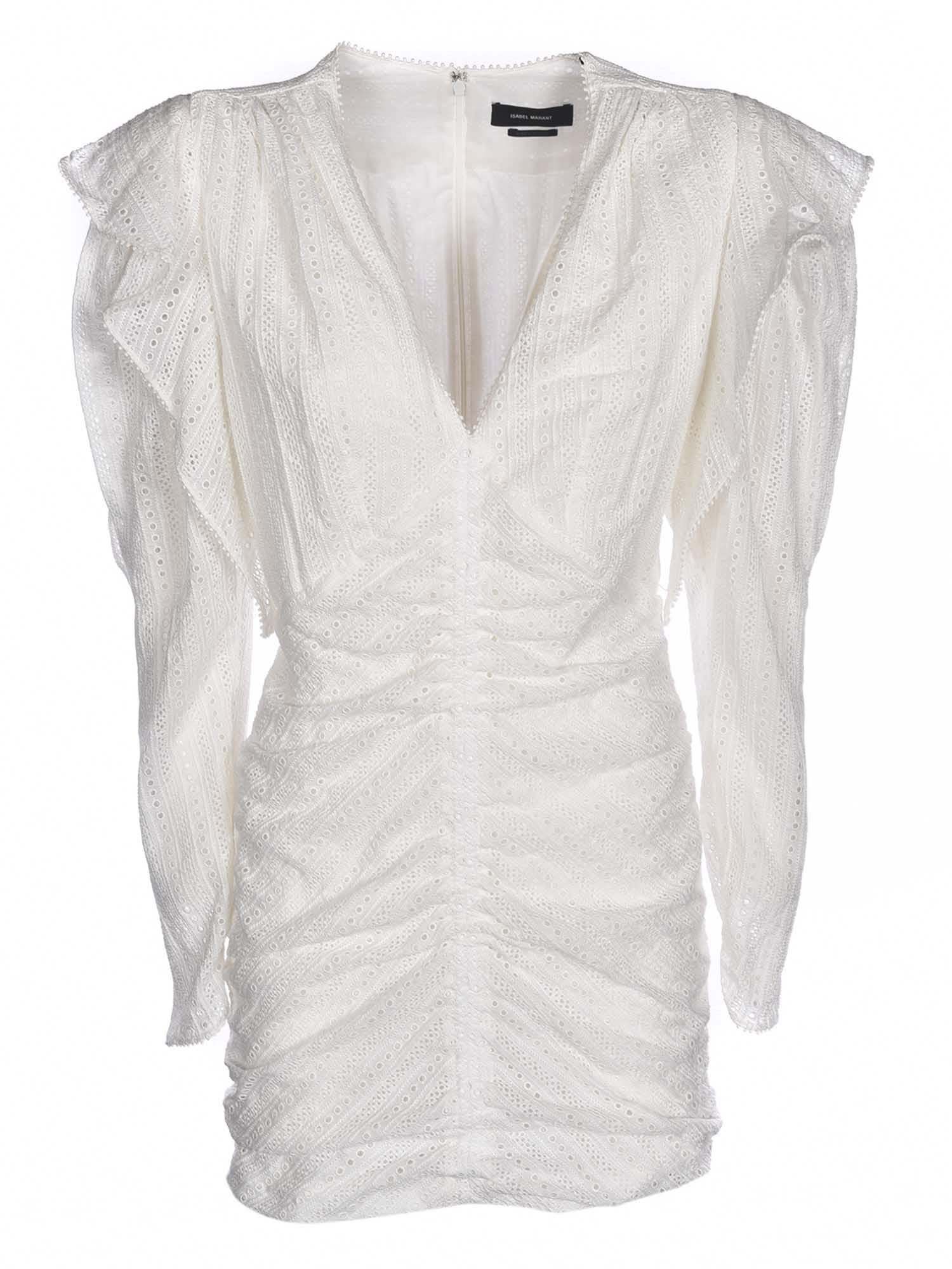 Isabel Marant ISABEL MARANT GETYA DRESS IN WHITE