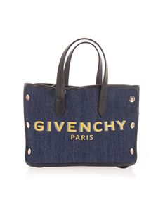 Givenchy - Borsa Bond Mini in denim blu