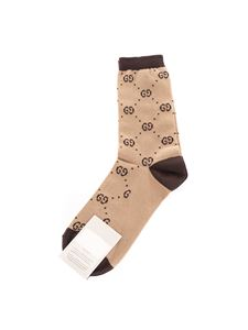 Gucci - GG socks in beige