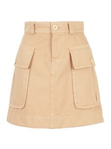 See by Chloé - Cargo mini skirt in beige