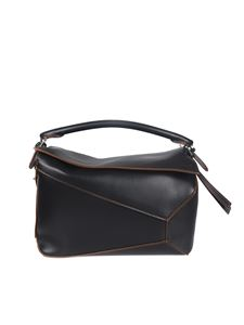 Loewe - Large Puzzle Edge bag in black