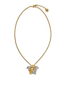 Versace - Medusa necklace in gold and silver color