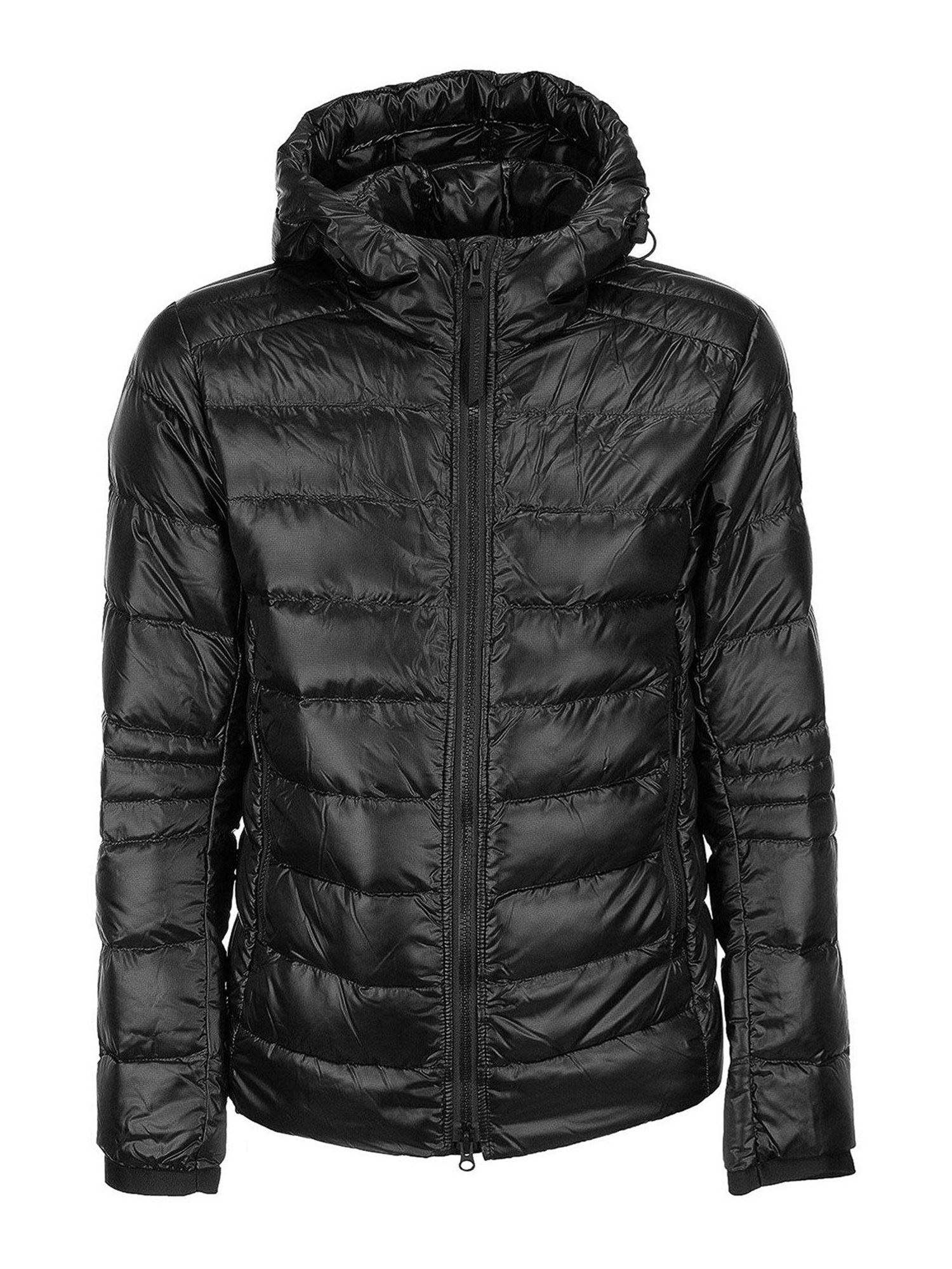 Canada Goose Downs CROFTON HOODED PUFFER JACKET IN BLACK