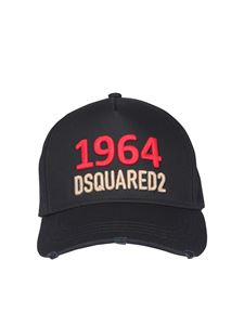 Dsquared2 - Logo embroidery baseball cap in black