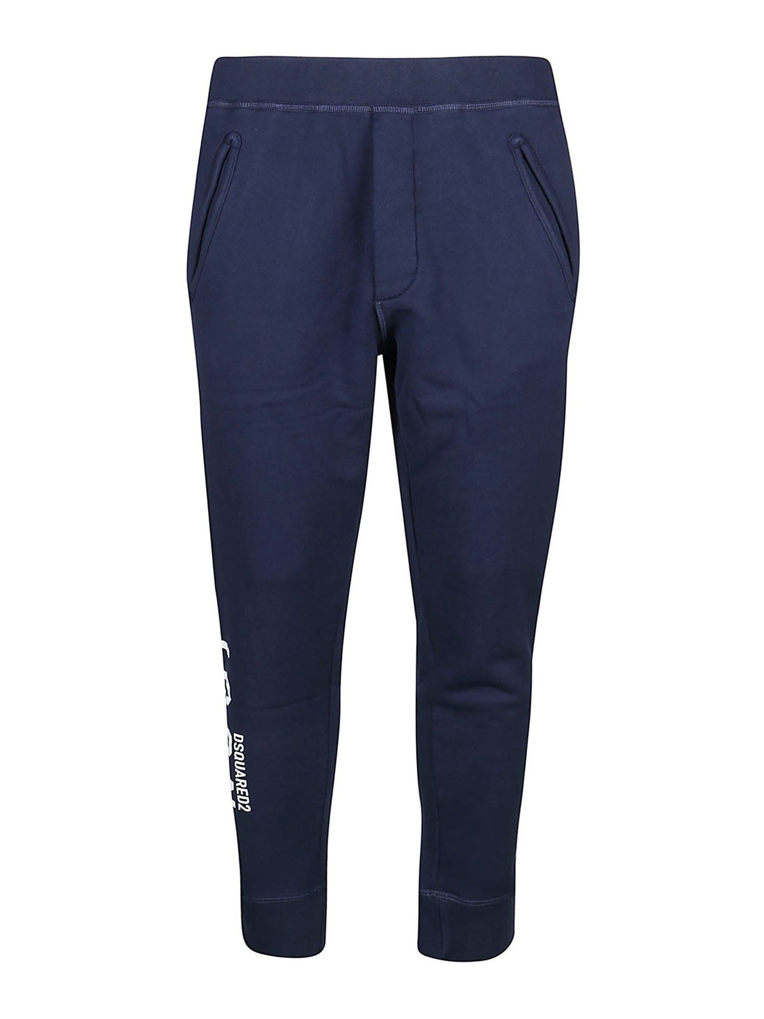 Dsquared2 COTTON PANTS IN BLUE