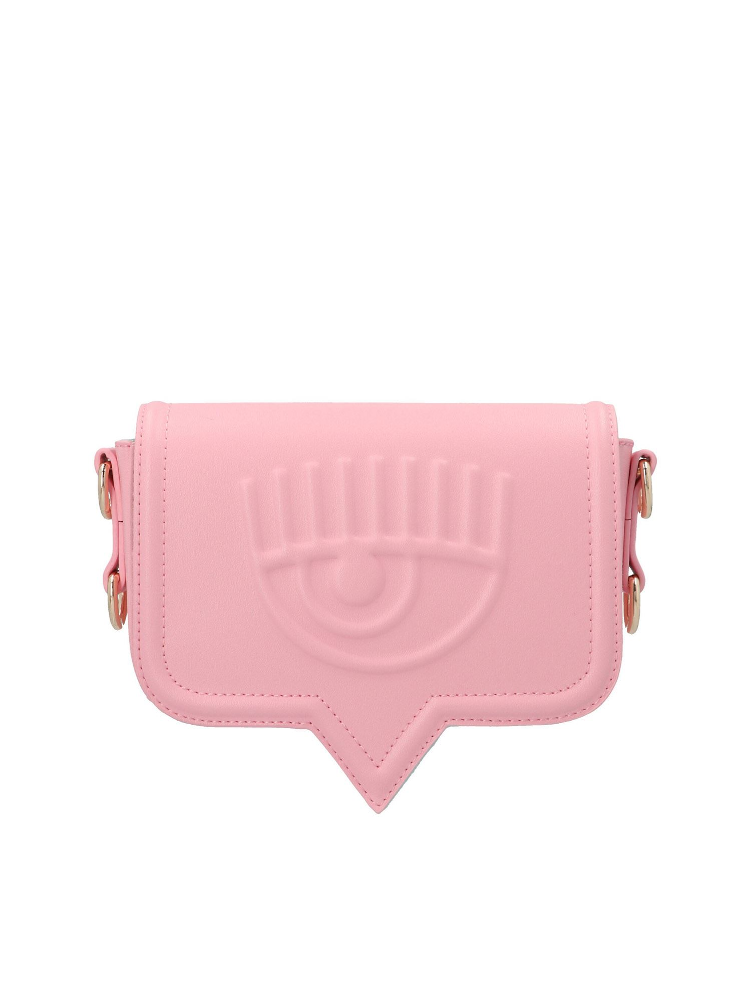 Chiara Ferragni SMALL EYELIKE BAG IN PINK