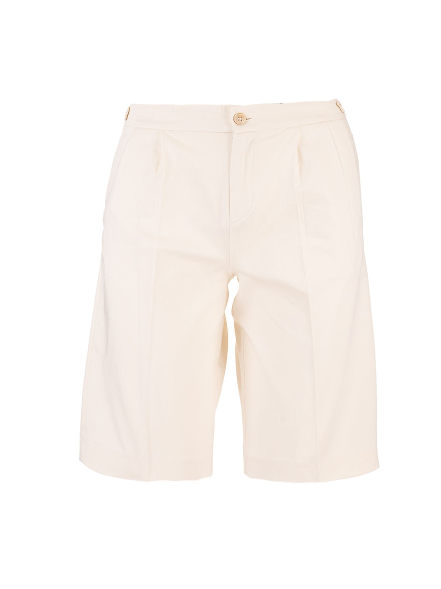 Gucci CAT LOGO SHORTS IN WHITE