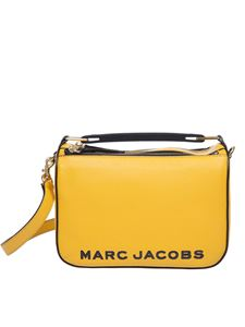 Marc Jacobs  - The Soft Box bag in ocher color